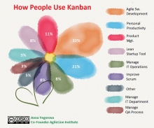 Poll results. How People Use Kanban